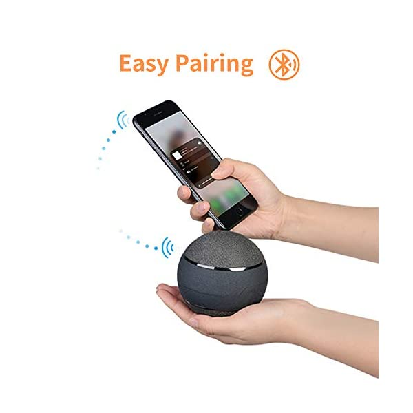 Bluetooth Speakers with 3 Colors Portable Wireless Speaker 5