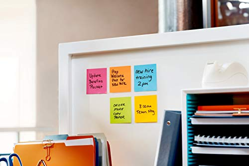 Post-it Super Sticky Notes, 3 in x 3 in, 24 Pads, 70 Sheets/Pad (654-24SSAU-CP) Photo #4