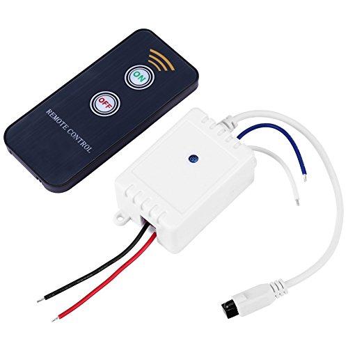 1CH 12V IR-afstandsbediening, draadloze ontvanger aan/uit relaisschakelaar voor de meeste huishoudelijke apparaten met LED-display
