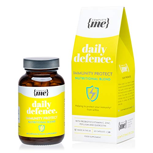 Complete Me Daily Defence Supplements for Immune Support, 60 Vegan Capsules