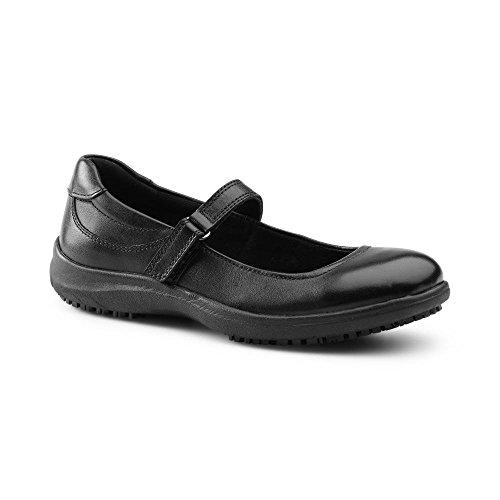 Keuka SureGrip Amelia Women's Black Mary Jane Shoe 6.5M