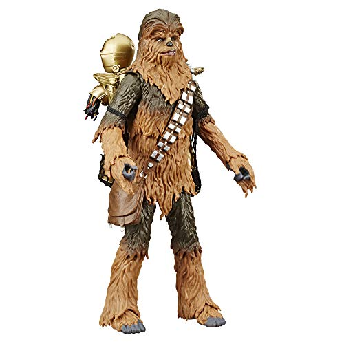 Star Wars The Black Series Chewbacca & C-3PO Toys 6' Scale The Empire Strikes Back Collectible Figures (Amazon Exclusive)