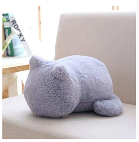 Knuffels mooie kat Cartoon Kussen Throw Pillow Pluchen speelgoed Bank Home Decoration slaapbank Accessoires Grootte 33X24X18Cm