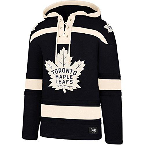 '47 NHL Eishockey Hoody Hoodie Kaputzenpullover Sweater Toronto Maple Leafs Lacer Jersey Trikot Hooded (XL)