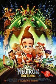 JIMMY NEUTRON - BOY GENIUS ORIGINAL MOVIE POSTER