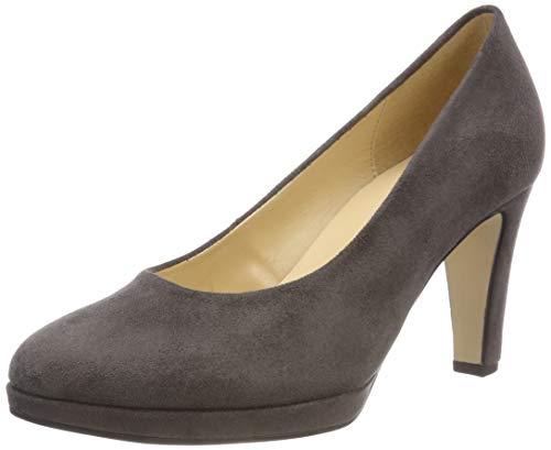 Gabor Shoes Damen Fashion Pumps, Grau (Dark-Grey 49), 42 EU