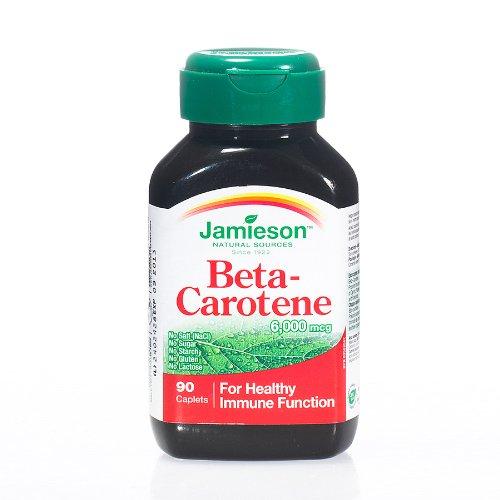 Jamieson Beta Carotene 90 Cpr - 50 Gr