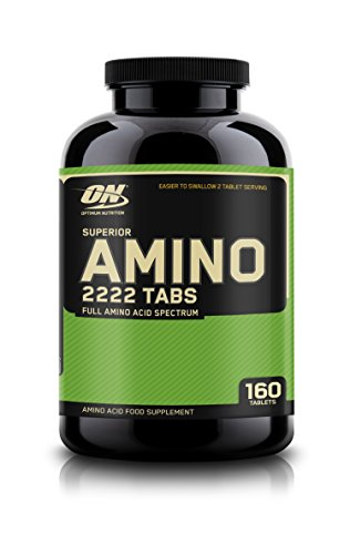 Optimum Nutrition On Eu Superior Amino 2222 160 Tabs 21 Lan - 240 g