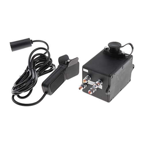 B Blesiya Contactor de Relé de Solenoide de Coche Profesional de 12 V + Kit de Interruptor de Pulgar Basculante de Cabrestante