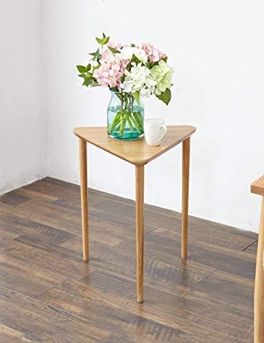 YONGYONGCHONG Bloemenstandaard Bloempotten Effen Houten Frame Vaas Wit Eiken Woonkamer Hoekbank Plant Bloem Groen 410 * 410 * 450mm Potje