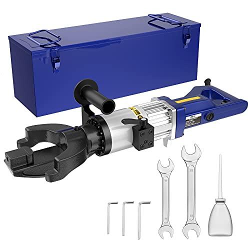 IMAYCC Electric Rebar Bender NRB-22 Rebar Bender Electric Tool 1100W/110V/60Hz,Bending Angle 0-130°,Diameter 4-22mm,Speed 5s, Portable Electric Hydraulic Bender for Many Types of Rebar (1100W, NRB-22)