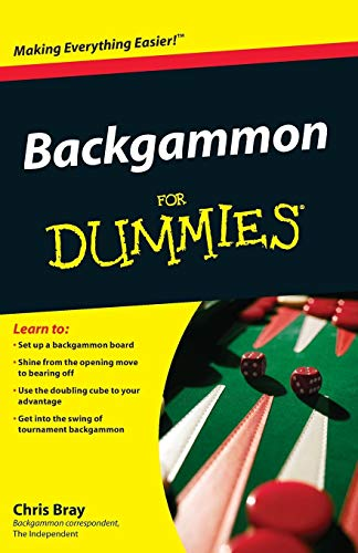 Compare Textbook Prices for Backgammon For Dummies  ISBN 9780470770856 by Bray, Chris