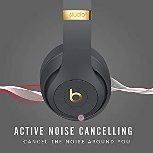 Beats Studio3 Wireless Headphones – The Beats Skyline Collection - Shadow Gray (Latest Model)
