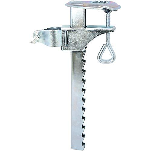 com-four® Sonnenschirm-Halterung aus verzinktem Stahl - Balkon-Halterung für Sonnenschirme - Schirmständer für Balkon (Ø 25-32mm - 01 Stück)