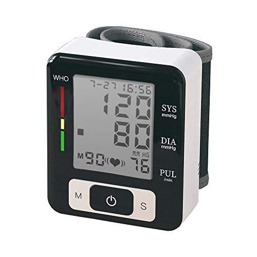 Blutdruckmessgerät Handgelenkt, TRUBUY Digitales Automatisches Blutdruck Messgeräte und Pulsmessung mit LED großem Display, 2 Benutzer Modus, 2 x 90 Speicherkapazität