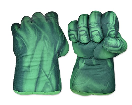 DS. DISTINCTIVE STYLE Ace Select Kids Cosplay Smash Gloves Large Soft Plush Green Grip Fists 1 Pair Boxing Gloves (9.5 Inch)
