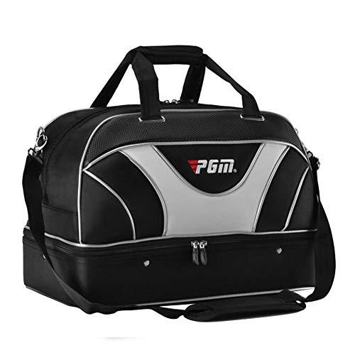 PGM Golf Duffle Bag Doppelstock-Golfkleidungstasche für Golfkleidung, Boston Bag, Golftasche mit zwei separaten Fächern