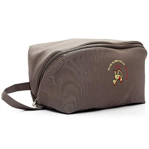 U/A Aufbewahrungsbeutel wasserdichte Reisetasche Für Damen Unterwäsche BH Sortierung Aufbewahrungstasche 28 * 14 * 14Cm Dunkles Khaki