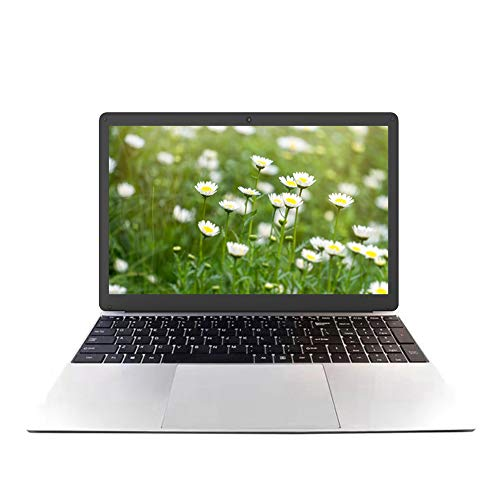 15.6 Zoll Laptop Notebook, Windows 10 Pro OS, Intel J3455 Quad-Core CPU, High Performance Business Laptop, 8GB DDR3 RAM 128GB SSD, Full HD 1920 x 1080, WiFi, HDMI