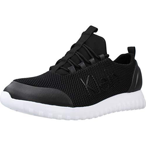Calvin Klein Calzado Deportivo YM0YM00085 para Hombre Negro 43 EU