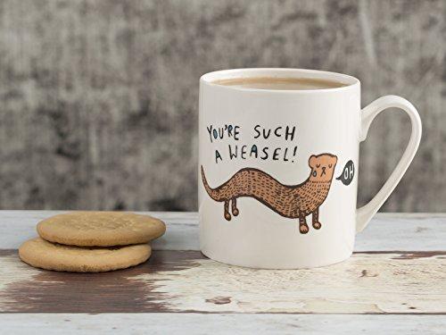 Everyday Home Weasel Mug by Creative Tops, 300 ml (10½ fl oz)