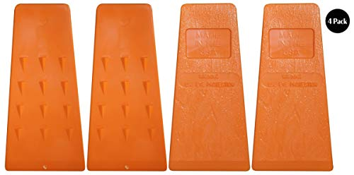 Timber Savage 5.5 Inch Felling Wedge Chain Saw Logging Supplies Set of 4