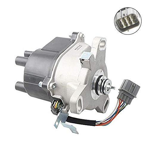 MOSTPLUS Ignition Distributor Compatible with 1999-2000 Honda Civic With TEC Acura Honda Replaces TD-63U TD-91U