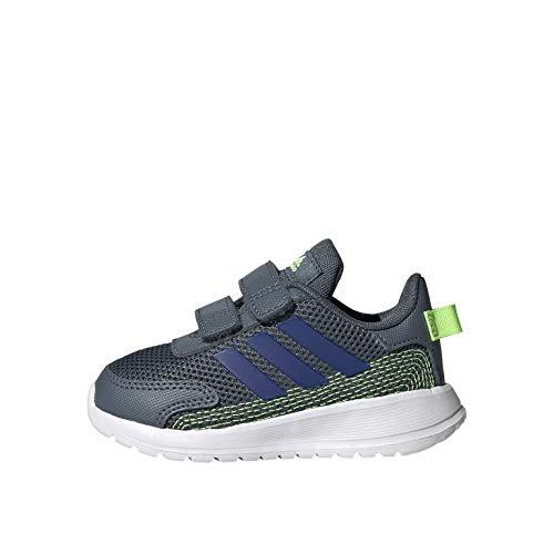 adidas TENSAUR Run I, Scarpe da Ginnastica Unisex-Bimbi 0-24, Azuleg/Azure A/Versen, 22 EU