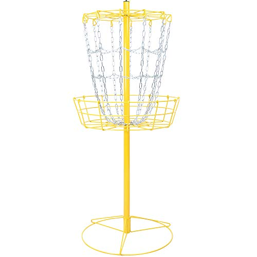 The Hive Disc Golf Practice Basket Cross Chains