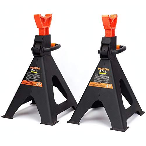 Unterstellböcke 3T oder 6T Stützböcke Wagenheber Ständer Modellwahl (1 Paar 6T)