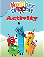 Numberblocks Activity Book: Coloring, Mazes, Puzzles and More Activity Pages, ages 2-5