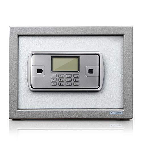Brandvrije kluis Deluxe Digital Security Kluis Keypad Lock kantoor aan huis hotel zakelijke sieraden Gun Cash Storage Veilig thuis (Color : Gray, Size : 35x25x26cm)