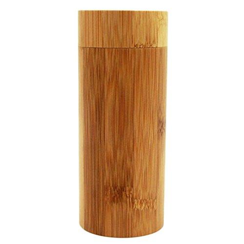 Fansport Fansport Sonnenbrille Fall Brillenetui Handgefertigte Bambus Holz Gläser Sonnenbrille Brillen Box
