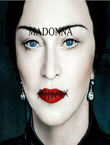 Madame X Madonna Pop Music Star Album Cover Canvas Painting Poster e Foto Wall Art Pictures for Living Room Decor-40x60CM Frameless