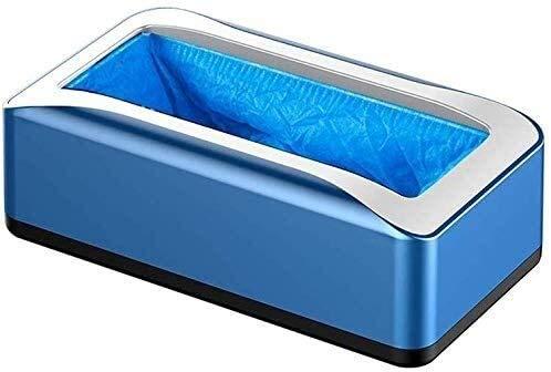 Schuhschutz Automatischer Schuhabdeckungspender, tragbare Kofferraum-Überschuhspender-Maschine mit 100 wegwerfbaren Vlies-Schuhabdeckungen for Haushaltsbüro Teppichreinigung 9.2 ( Color : Color )