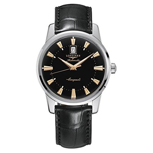 Los relojes Longines Conquest de patrimonio de la humanidad de los hombres de la colección de Longines automático con el reloj