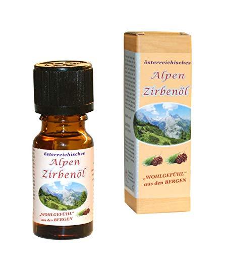 Zirbenöl premium aus Österreich - ein zu 100% naturreines ätherisches Zirbenöl (10ml)