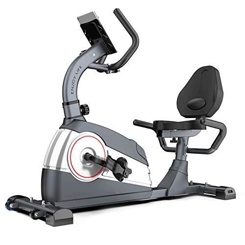 Yingm Fitness en Cualquier Momento Control magnético reclinada Bicicleta Inicio Bicicleta de Spinning Cubierta de Bicicleta de Ejercicios Bicicleta Bicicleta de Ejercicio Práctica Bicicleta Estática