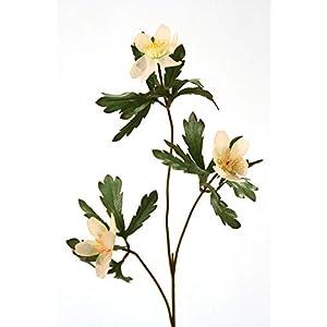 Distinctive Designs Artificial Peach Forest Anemone Stem Flower DIY Flower