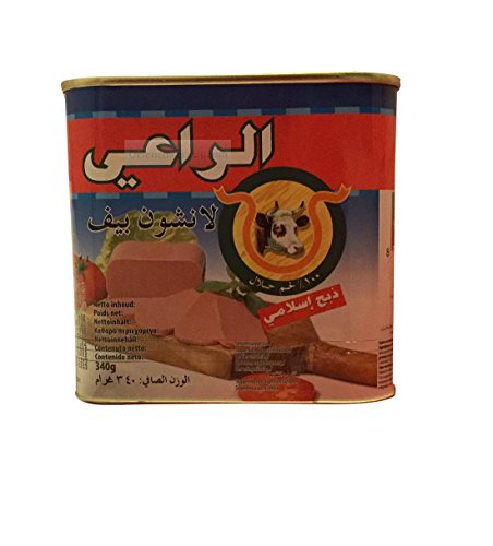 Al raii vacuno Luncheon Meat (340g.) Halal