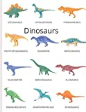 DInosaurs: A blank lined notebook