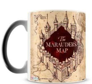 Caneca de Cerâmica Harry Potter 325ml mapa_maroto_magica
