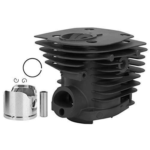 EVTSCAN Últimos kits de cilindros Motosierra - Accesorios de herramientas de hardware Kit de repuesto de pistón de cilindro Apto para motosierra Husqvarna 350 H350L