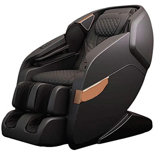 Health & Fitness_Hub Sobo HF21 4D Full Body Recliner Zero Gravity Massage Chair (Brown and Beige)