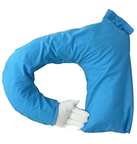 ZWL Arm Pillow Creative Male Et Femmes Amis Dormir Oreiller Funny Couple Oreiller Jouet Bureau Modélisation Cadeau Allongé Oreiller Coussin Coussin Oreiller mode z ( Couleur : Bleu )