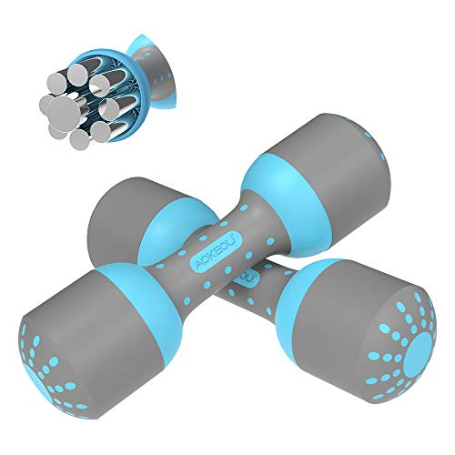Product Image of the KOOLSEN Adjustable Dumbbells Weight Set, 5 in 1 Weights 2.6~11lbs Single...