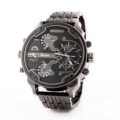 HWCOO Oulm Uhren Männer Uhrgurt Sportuhr 3548 (Color : 1)