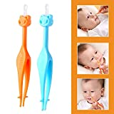 Baby Safe Nasal Booger and Ear Cleaner, Easy Snot and Earwax Removal Tool, Nose and Ear Cleaner Gadget for Newborn and Infant Shower Gifts