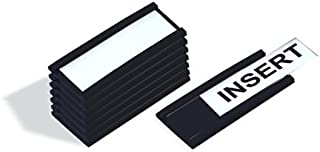 MasterVision FM1513 Data Card Replacements, 3 x 1-3/4 Inches, White, 500 Count