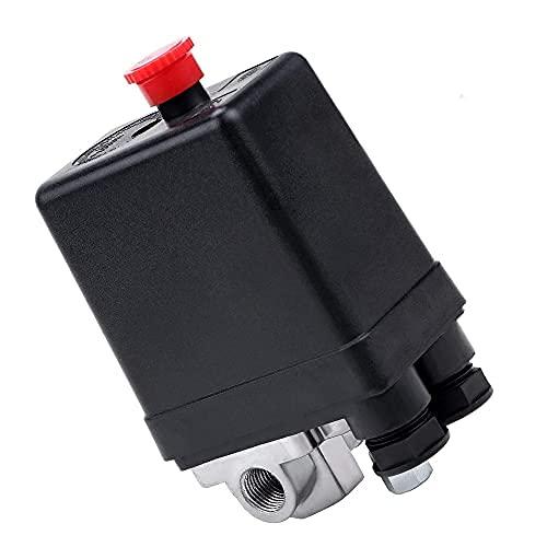 Compresor de aire presostato, interruptor de válvula de presión, compresor de aire conmutador de válvula de